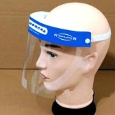 10 Unidades / pacote Descartável Segurança Médica Escudo Facial Resistente a Fluidos Máscara Facial