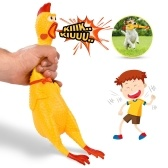 42CM Screaming Chicken Squeeze Sound Игрушка для домашних животных Shrilling Decompression Tool Смешные гаджеты