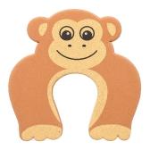 Cartoon Tier Schaum Türstopper Schutzkissen Halter Schloss Sicherheit Schutz für Kinder Kinder Baby Gelb Koala