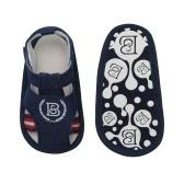 Infant Toddler Baby Shoes Boy Sandal Magic Tape Soft Sole Non-Slip Sneaker Prewalker For Summer Dark BLue U.S Size 4