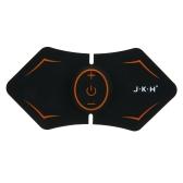 JKH Estimulador de Músculo Elétrico EMS Exercício de Musculatura Abdominal Exercise Body Massager