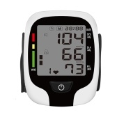 IHB WHO Digital Wrist Blood Pressure Electronic Sphygmomanometer Voice Reminder Monitor Rate Pulse Heart Beat Rate Meter Device Portable Health Hosekepper