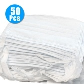50Pcs Disposable 3-Layer Medical Sanitary Surgical Mask For Coronavirus
