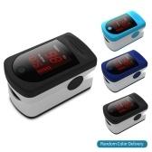 Цифровой кончик пальца пульсоксиметр светодиодный дисплей крови кислородный датчик насыщения SpO2 монитор измерительный прибор для дома престарелых любитель спорта