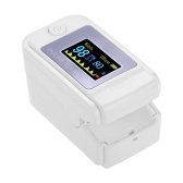 Mini Fingertip Pulse Oximeter Pulse Rate Blood Oxygen Saturation Monitor Clear OLED Display for Home Use