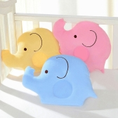 New Baby Soft Lovely Cotton Pillows Elephant Shape Pillows Head Sleep Positioner Anti-tipping Skin Sleepwear Bedding