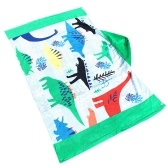 Дети с капюшоном Пляжные полотенца Одеяло Хлопок Супер Абсорбирующий Смазливая ванна для купания Плавательный бассейн Полотенце Плащ-плащ для мальчика Синяя полосатая кита