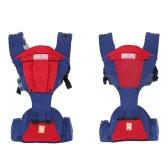 6 в 1 Baby Carrier с карманами для тазобедренного сустава Передние кенгуру-пакеты Breathable Light-weight Регулируемый талисман для младенца для малышей для малышей 3 месяца-36 месяцев
