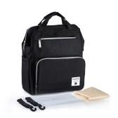 おむつバッグバックパック多機能防水大容量おむつバッグ