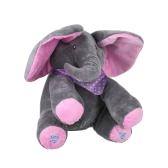 Elektrische entzückende kleine Elefant animierte Flappy Push Doll Kids vorhanden