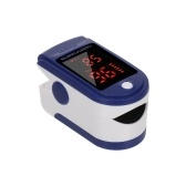 Digital Fingertip Pulse Oximeter Blood Oxygen Sensor Saturation Mini SpO2 Monitor Pulse Rate Measurement Meter for Home Sports Travel