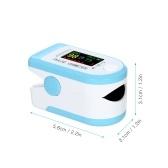 Oxímetro de pulso sem fio na ponta do dedo APP Armazenamento de dados 8s Função de alarme de desligamento automático Saturação de oxigênio no sangue e detecção de frequência cardíaca com monitor portátil de SpO2 e PR para viagens em casa