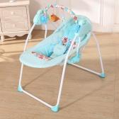 Eléctrico Bebé Cradle Swing Rocking Mando a distancia Silla Cama para dormir Cama Cuna Para Recién Nacido Infantil Rosa