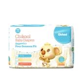 Chikool Baby Diaper Размер S 28 Подсчет для менее 15 фунтов Детский дышащий сухой одноразовый подгузники подгузник