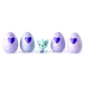 4pcs réutilisable Magic Hatch oeuf recueillir exclusive des œufs flamboyants avec un petit animal mignonne