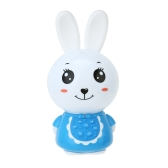 Bunny Kids Music Player Story Teller Learning Machine Night Light Toy for Baby