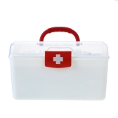129PCS All Purpose First Aid Kits Box for Home Car Outdoor Family Emergency Medicine Storage Box Organizer Set FDA Approved