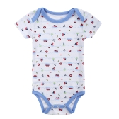 Baby Rompers Bodysuit 100% Cotton Short Sleeve Unisex Newborn Baby Clothing 0-3Month