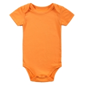 Baby Rompers Bodysuit 100% Cotton Short Sleeve Unisex Newborn Baby Clothing 0-3Month