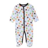 Baby Overalls Strampler Set Unisex 100% Baumwolle Overall Füßlinge Kleidung Für Neugeborene Baby Kleinkind 0-3 Mt