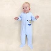 Baby Overall Strampler Set 100% Baumwolle Overall Füßlinge Kleidung Für Neugeborene Baby Infant Boy 0-3 Mt