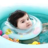 Anillo de natación de baño de bebé Anillo de círculo de recién nacido Entrenador inflable Piscina Flotador Animal de asiento Modelo azul S
