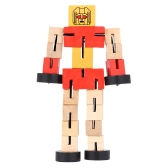 Wooden Transformation Robot Cars Building Blocks Toys Gifts Early Educational Intelligence For Kid Child