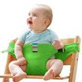 Seggiolone per bambini Imbracatura portatile Cintura di sicurezza per bambini Seggiolino per neonati Cintura rosa