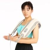 Carevas Tapping Neck and Shoulder Massager с теплом Полный электрический массаж тела 15 Интенсивность / 39 режимов / 15 минут Время для облегчения боли и расслабления