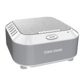 Baby Sleep Soothers Sound Machine White Noise With 5 Soothing Sounds SD Card Timer For Home Office Travel  Silver  EU
