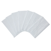 Carevas 50PCS Earloop Disposal Face Masks 3-Ply Non-Woven Filter Mask for Dust/Air/Flu Germ/Odor