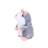 Elektrische Smart Little Talking Hamster Record Repeat Gefüllte Plüsch Tier Kinder Puppe 15 Cm