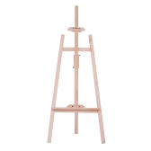 150cm/ 59 Inch Durable Art Artist Wood Wooden Easel Sketch Drawing Stand NZ Pine for Painting Sketching Display Exhibition