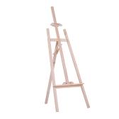 150センチメートル/ 59インチ丈夫なアートアーティストウッド木製イーゼルスケッチデッサンスケッチディスプレイ展絵画のためのNZパインスタンド