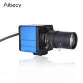 Aibecy 1080P HD Camera Computer Camera Webcam 2 Megapixels 10X Optical Zoom 80 Degree Wide Angle Manual Focus Auto Exposure Compensation with Microphone USB Plug & Play for Video Conference Online Teaching Chatting Live Webcasting