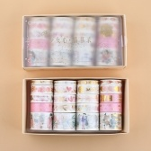 20 Rolls Washi Japanese Paper Tape Gold Foil Masking Tape
