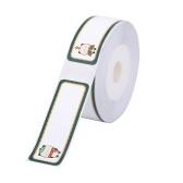Papel de etiqueta Niimbot Papel para impressão térmica Nome Preço Tamanho Código de barras Etiqueta à prova d