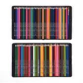 72 Premium Kolor Pre-Zaostrzone rozpuszczalne w wodzie Woda kolorowymi kredkami ze szczotką metalową obudową dla dzieci Dorośli Artysta rysunek sztuka Szkicowanie Pisanie Artwork Coloring Book