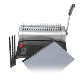 A4 Paper Puncher Binder 21 Buracos Máquina de Encadernação 12 folhas de perfuração 450 lençóis Binding Office Home Tools