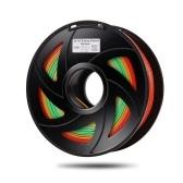 Cambio de color de filamento de impresora 3D PLA (1 rollo, entrega aleatoria de color)
