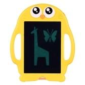 Aibecy 8,5-дюймовый мультяшный ЖК-планшет для письма Электронный блокнот для рисования Доска для письма с 6 пакетами копировальной бумаги Кнопка блокировки одним нажатием