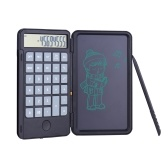 Aibecy Portable Calculator & LCD Writing Tablet Digital Drawing Pad 12 Digits Display