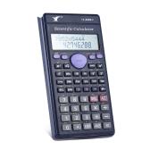 Kalkulator naukowy Counter 240 Funkcje Wyświetlacz LCD 2 linie biznesowe Biuro Middle High School Student SAT / AP test Oblicz
