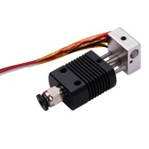 3D Printer Full Metal Hotend Extruder Kit Hot End Set with 0.4mm Nozzle 100K Thermistor Heatsink Wire 24V Compatible with ET4/ET4 Pro Printer 1.75mm Filament