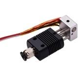 Комплект экструдера Hotend для цельнометаллического 3D-принтера Комплект горячего конца с соплом 0,4 мм Термистор 100K Провод радиатора 24 В Совместимость с принтером ET4 / ET4 Pro Нить 1,75 мм