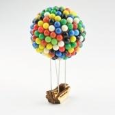 350 pcs Ballon Pin Casa Pinos Coloridos Com Base De Madeira Artesanato Presente Diy