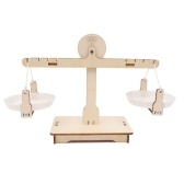 DIY Balance Scale Lever Wooden Weighing Scale