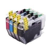 Совместимый с Aibecy сменный картридж с чернилами для LC3013 LC-3013 LC3011 LC-3011 увеличенного ресурса Совместимость с Brother MFC-J491DW MFC-J690DW MFC-J895DW Принтер MFC-J497DW, 4 упаковки (1 черный, 1 голубой, 1 пурпурный, 1 желтый)