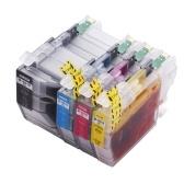 Сменный картридж с чернилами Aibecy для LC3019 LC-3019 увеличенного ресурса Совместимость с Brother MFC-J5330DW MFC-J5335DW MFC-J6930DW MFC-J6730DW Принтер MFC-6530DW, 4 упаковки (1 черный, 1 голубой, 1 пурпурный, 1 желтый)