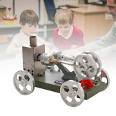 Hot Air Stirling Engine Motor DIY Model Car Vehicle Kit Unassembled Education Toy Science Experiment Teaching Aids Gift for Teacher Student Adult Children